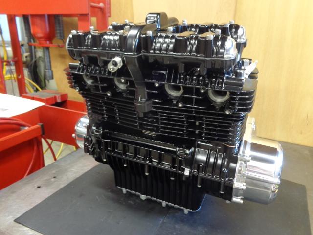 エンジン、ようやく完成です。